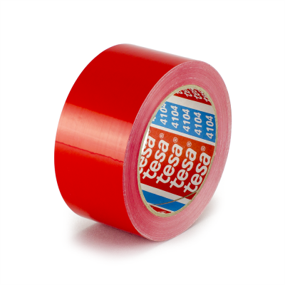 4104 - 2.64 mil PVC Carton Sealing Tape - 01205 - 4104 Red PVC Carton Sealing Tape.png