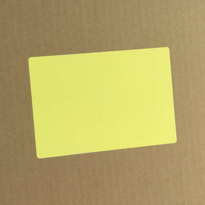 Thermal Transfer Labels - 18914 - 4x6 Fluorescent Chartreuse Thermal Transfer Labels.png